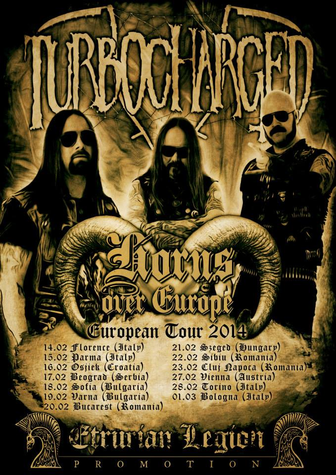 turbocharged european tour.
