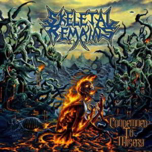 Skeletal Remains (Us) - Condemned To Misery (Gatefold Lp Black Vinyl)