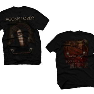 Agony Lords - A Tomb For The Haunted T-Shirt (Large)