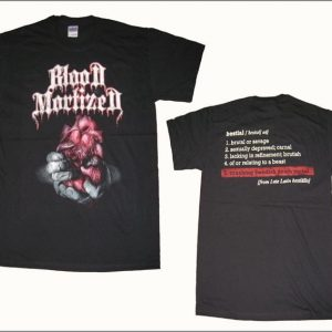 Blood Mortized - Bestial T-Shirt (Small)