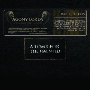 Agony Lords - A Tomb For The Haunted Deluxe Digipak Cd+Dvd