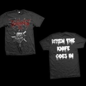 Godphobia - When The Knife Go In T-Shirt (X Large)