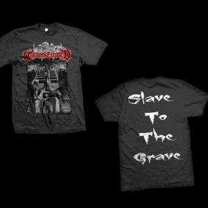 Unconsecrated - Slaves To The Grave T-Shirt (Small)