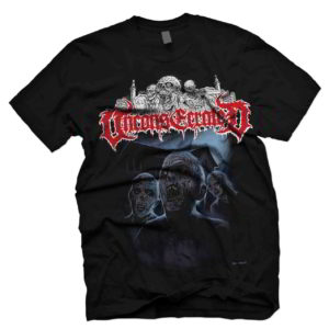 Unconsecrated - Awakening In The Cemtery Grave T-Shirt (Medium)