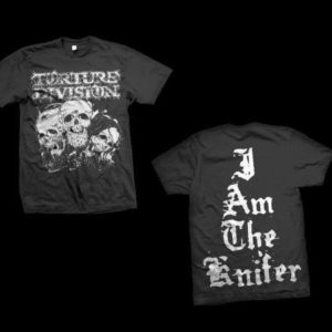 Torture Division - I Am The Knifer T-Shirt (Medium)