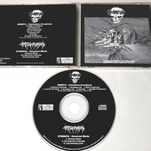 Embryo / Stigmata (Swe): Damnatory Cacophony / Deceived Minds Official Split Cd