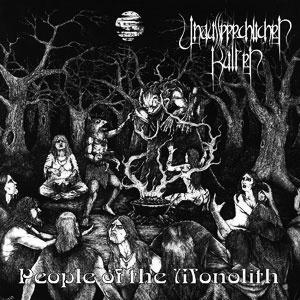 Unaussprechlichen Kulten - People Of The Monolith Cd