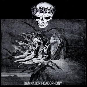 Embryo / Stigmata - Damnatory Cacophony / Deceived Minds Lp (Black/White)