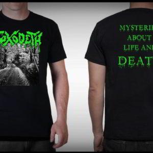 Toxodeth (Mex) - Mysteries About Life & Death T-Shirt Medium