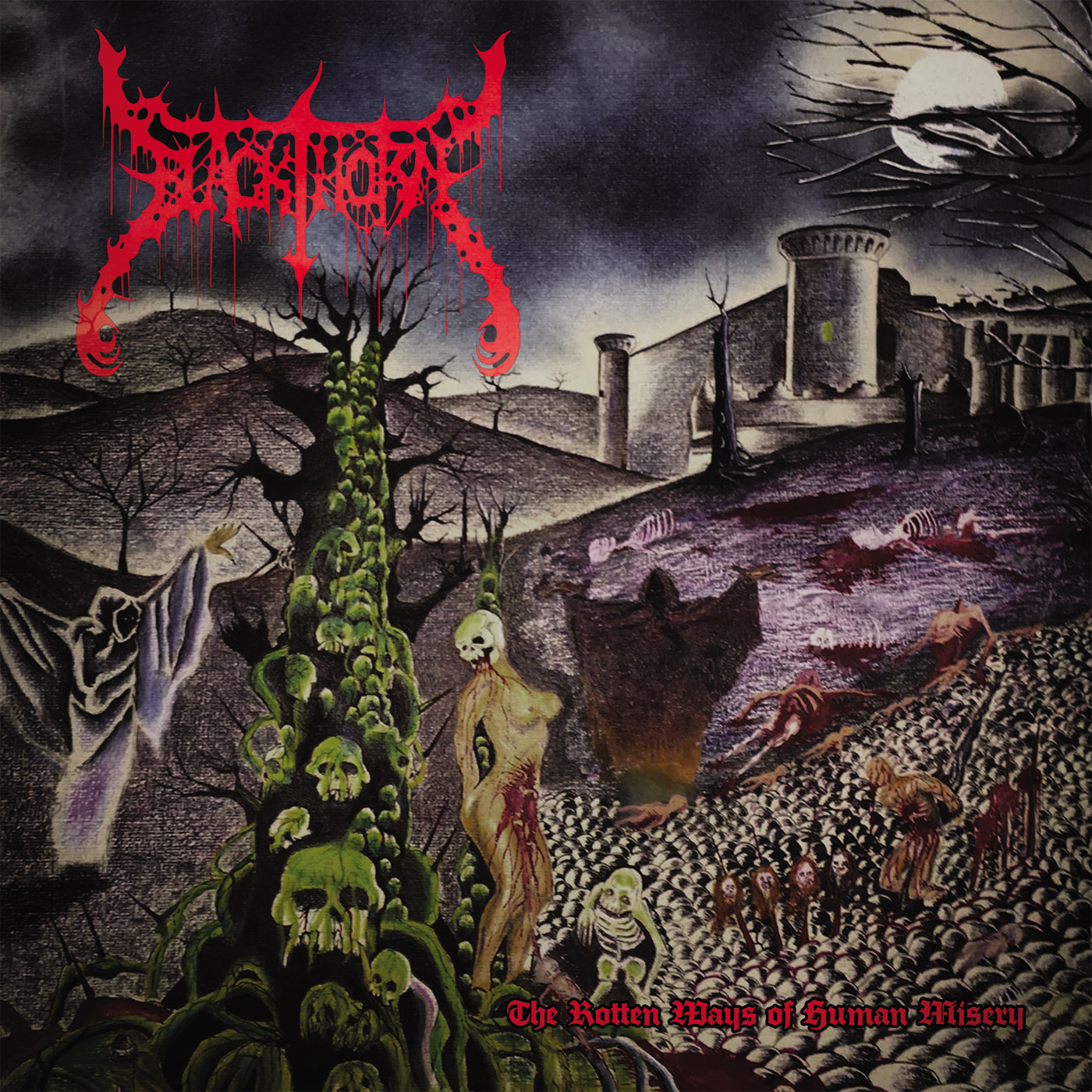 BLACKTHORN (MX) - The Rotten Ways Of Human Misery CD (REISSUE)