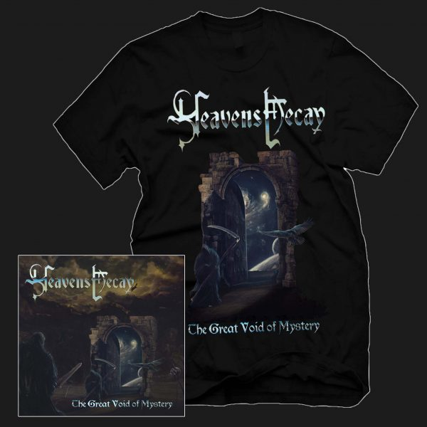HEAVENS DECAY - The Great Void T-SHIRT BUNDLE